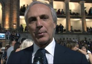 Massimo Bianconi allo Sferisterio nel 2012