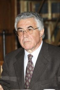 Il professor Filippo Mignini