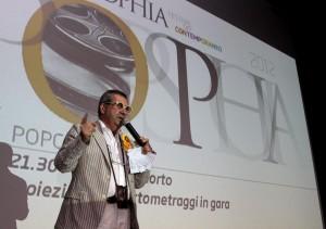 Evio Hermas Ercoli, fondatore e direttore artistico di Popsophia