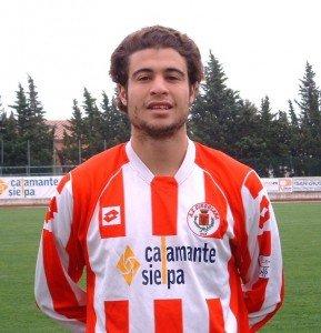 Il centrocampista Ben Djemia vicino al Corridonia