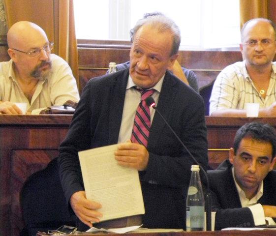 L'assessore regionale al bilancio con delega alla cultura, Pietro Marcolini