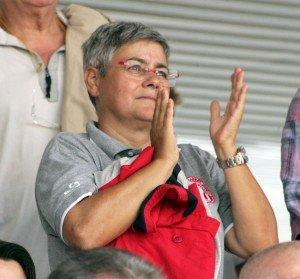Il presidente della Maceratese Maria Francesca Tardella