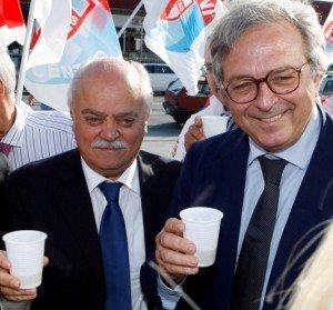 Antonio Pettinari e Giammario Spacca
