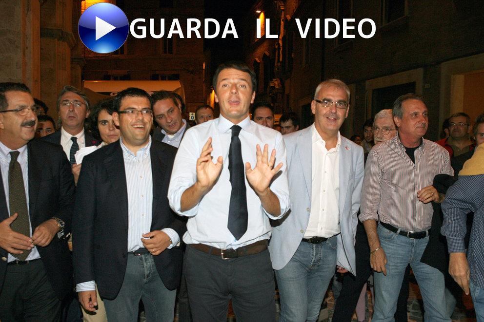 29 settembre 2012 - La visita di Matteo Renzi a Macerata (clicca sull'immagine per guardare il video)
