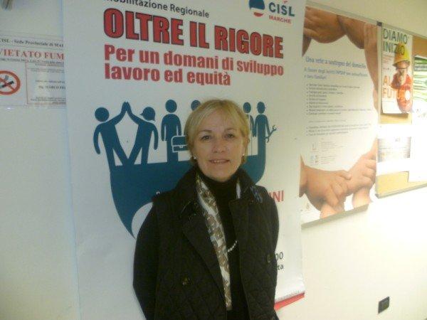 Anna Maria Foresi, segretaria Cisl Scuola