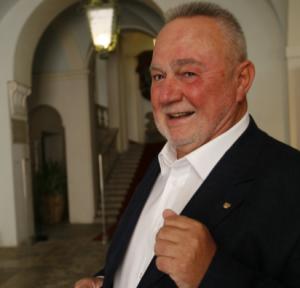 """Giancarlo Cossiri, presidente del comitato """"Stringiamoci a coorte"""""""