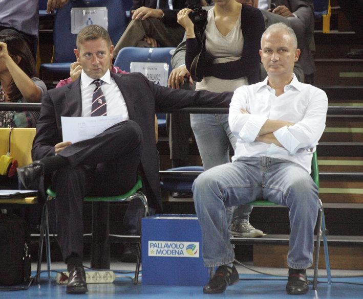 Coach Giuliani e patron Giulianelli