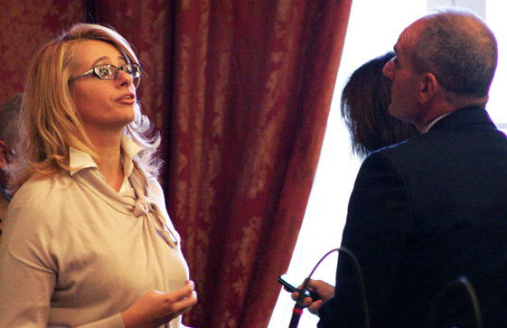 Irene Manzi e Romeo Renis fanno parte del comitato elettorale insieme a Sciapichetti, Scoccianti e Magnarelli