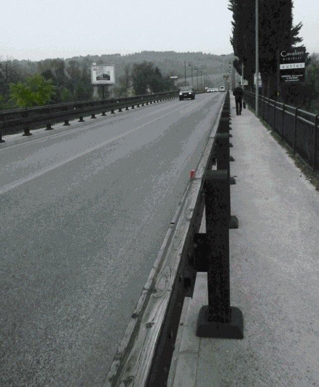 Il ponte Pertini a Villa Potenza