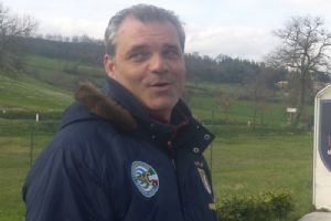 L'allenatore Angelo Ortolani