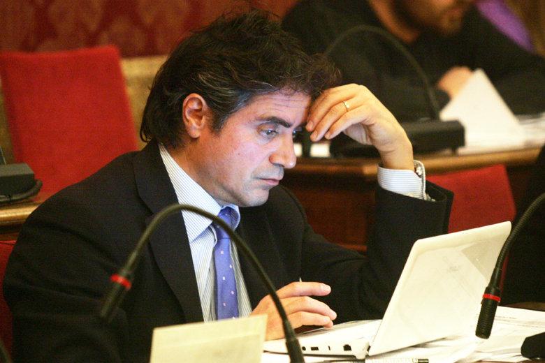 Fabio Pistarelli, consigliere Pdl e anch'egli avvocato