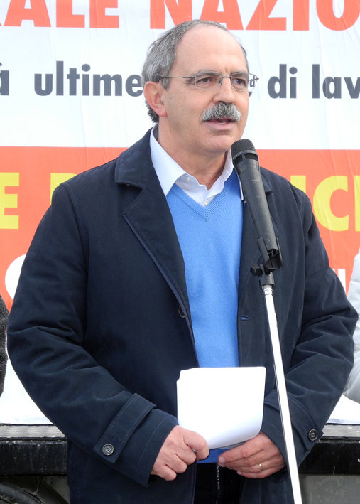 Aldo Benfatto, segretario provinciale della Cgil