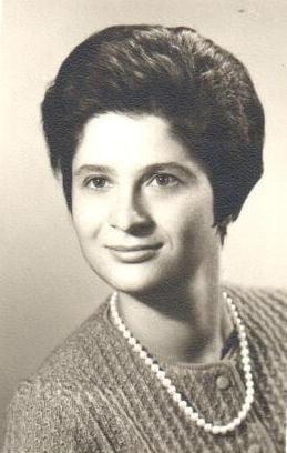 Anna Maria Valori in una foto degli anni Sessanta