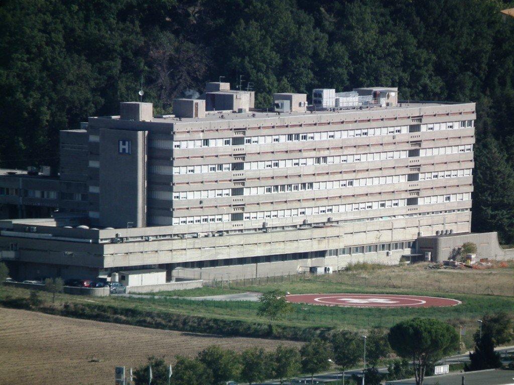 L'ospedale di San Severino