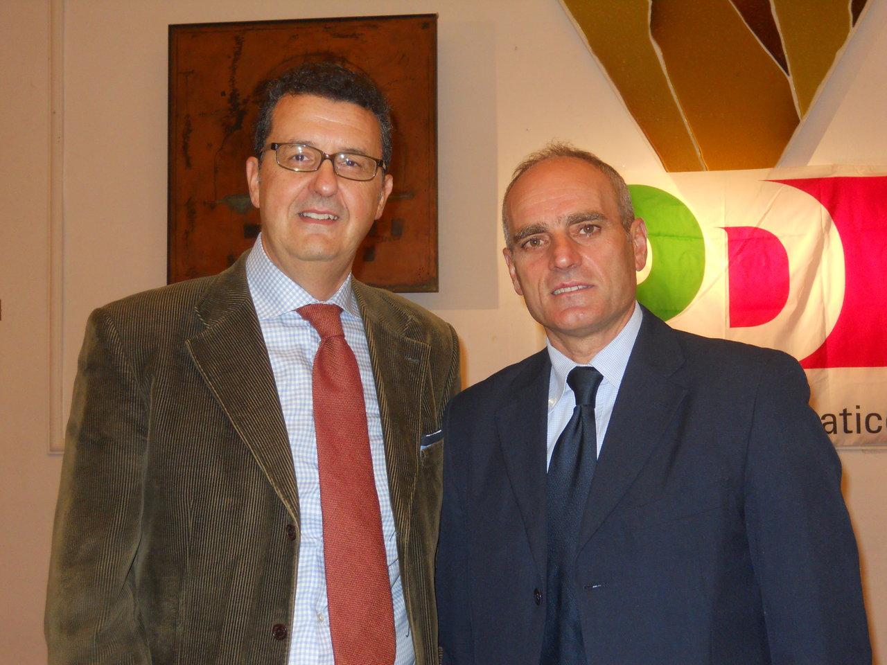 Paolo Micozzi e Romeo Renis si erano sfidati per la segreteria del Pd