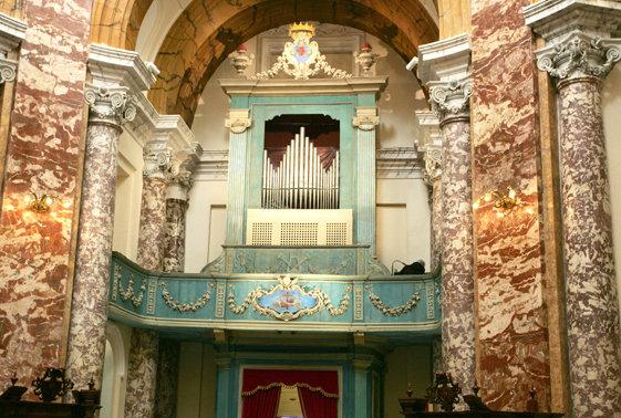 La Cantoria all'interno della Chiesa di San Filippo