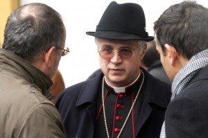 Il vescovo Claudio Giuliodori