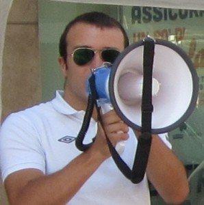 Il coordinatore di Forza Nuova Tommaso Golini