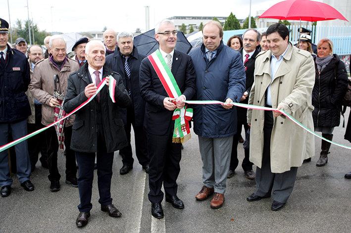 Dicembre 2012, inaugurazione della lottizzazione Valleverde