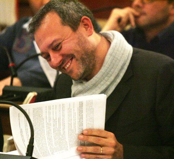 Pierpaolo Tartabini, capogruppo di Sel