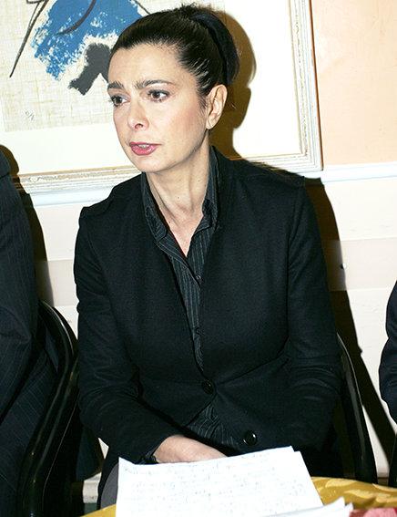Laura Boldrini in un recente incontro a Macerata
