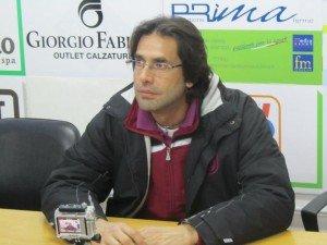 Mister Luigi Zaini, allenatore dei cremisi