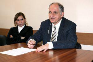 Il direttore dell'Area Vasta 3 Enrico Bordoni
