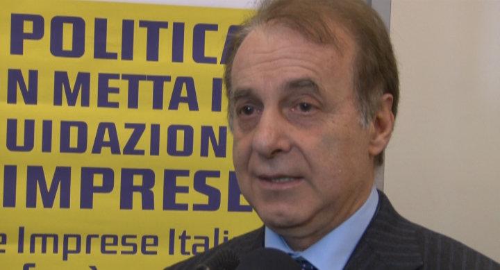 Mario Volpini, presidente di Confcommercio Macerata