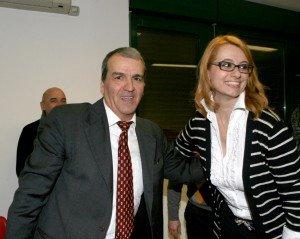 Irene Manzi e Mario Morgoni