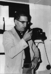 L'ing. Egidio Egidi in una foto di molti anni fa (da Il Distretto di Ravenna nel moindo degli Idrocarburi marzo 1999)