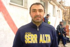 L'allenatore del Serralta Palombi