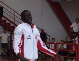 Il cestista dell'Abm Thiam