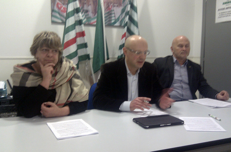Da sinistra Lidia Fabbri, Marco Ferracuti e Giuseppe Spernanzoni
