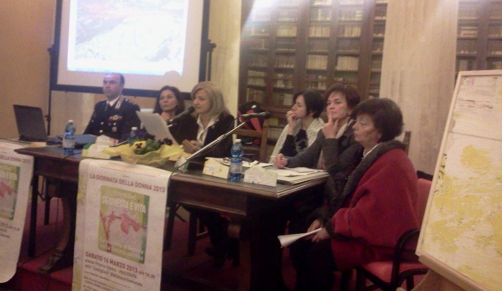 Leonardo Berdini, Antonella Ciccarelli, Leida Polci, Alessandra Fermani, Brunetta Formica e Anna Maria Cimarelli