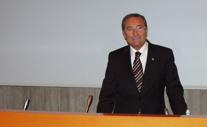 Il presidente dell'associazione piccoli azionisti di Jesi, Bruno Stronati