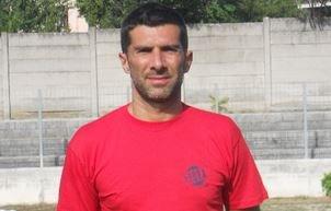 L'allenatore del Matelica Carucci