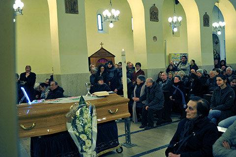 La celebrazione di oggi pomeriggio nella chiesa di San Marone