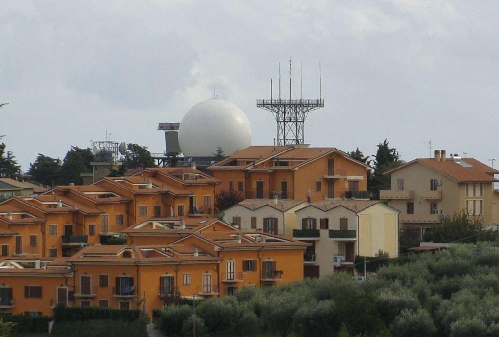 Il radar di Potenza Picena