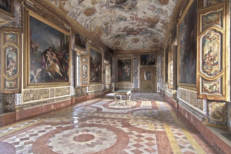La sala Eneide di Palazzo Buonaccorsi