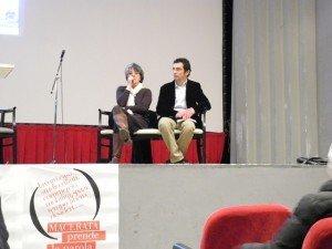 Alberto Cicarè e Letizia Carducci