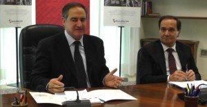 L'ex presidente Lauro Costa con il direttore Goffi