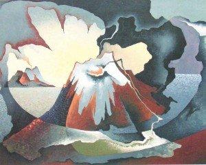 Un'opera di Tullio Crali