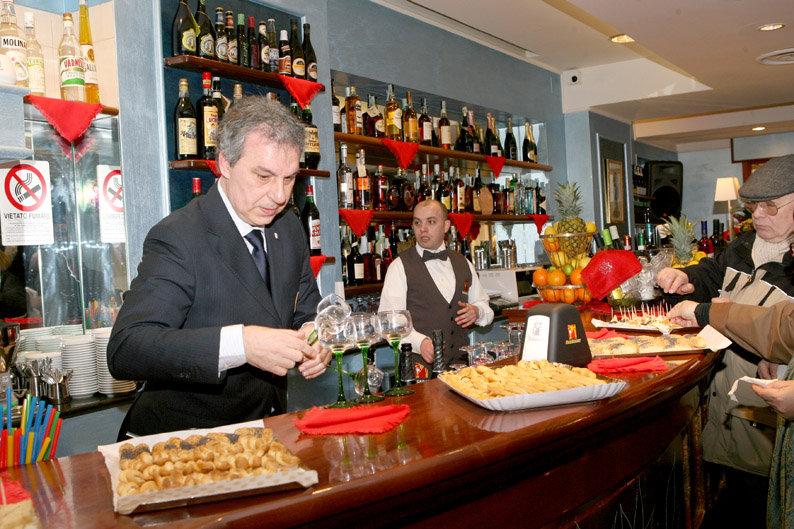 L'inaugurazione della gestione Pompei-Diprè nel marzo 2013