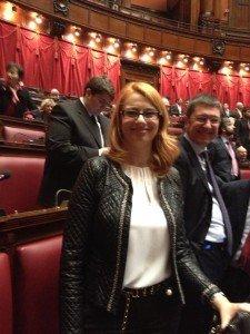 Irene Manzi a Montecitorio
