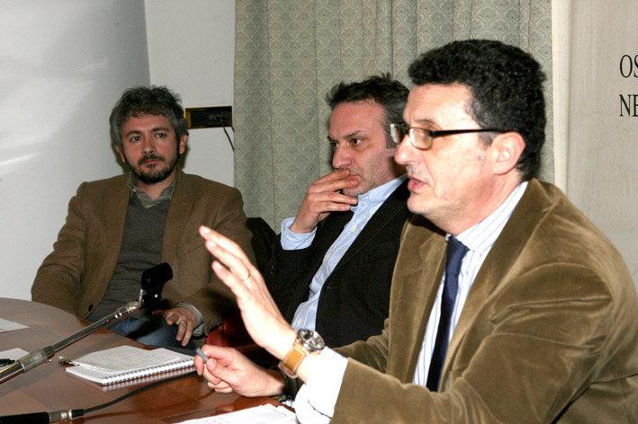 Il segretario del Pd Paolo Micozzi