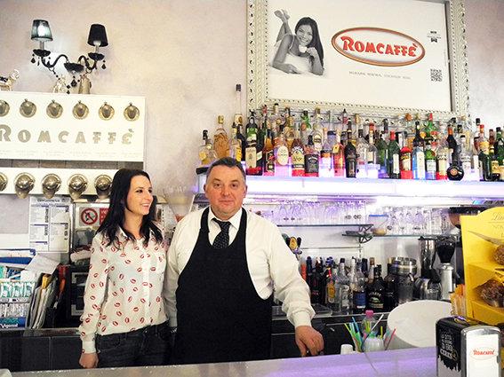 Pierino e Stefania del Romcaffè