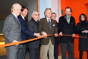 Il taglio del nastro lo scorso anno del Frau Museum