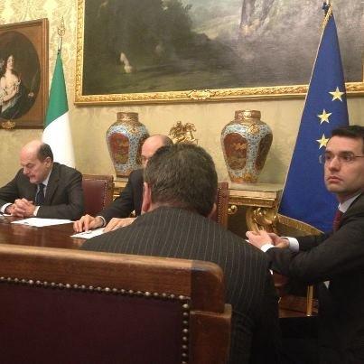 L'incontro di oggi con Pierluigi Bersani