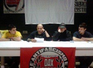 I ragazzi del Jolly Rogers: da sinistra Paolo Giorgetti, David Bastioli, Andrea Rosati, Gioacchino Lucamarini