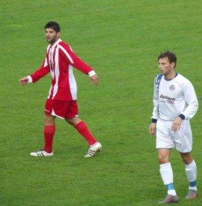 Il centrocampista Juan Colella